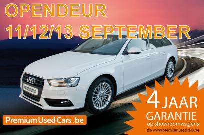 Openingsweekend bij Premium Used Cars