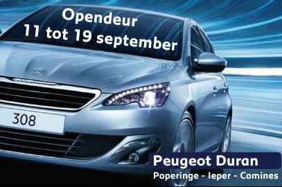 Opendeur bij Peugeot Duran